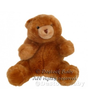ikea peluche doudou marionnette ours marron titta soft toy bear bja rn puppet pla schba r ba ra. Black Bedroom Furniture Sets. Home Design Ideas