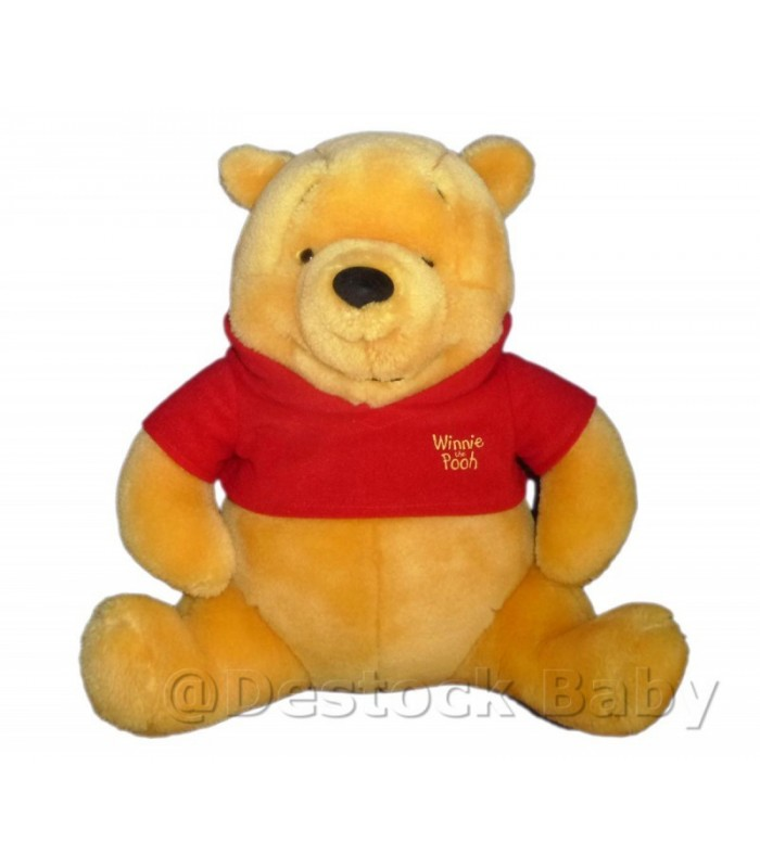 peluche doudou winnie l 39 ourson the pooh jemini disney h 28 cm. Black Bedroom Furniture Sets. Home Design Ideas