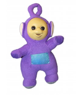 Peluche TELETUBBIES Viloet TINKY WINKY - H 27 cm - TOMY Licence BBC 5889