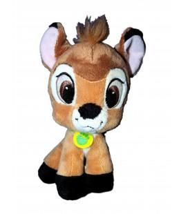 Peluche doudou BAMBI Disney Nicotoy Simba Pet Shop 16 cm