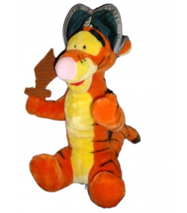 Peluche XXL - 50 cm assis - Tigrou Pirate - Disney