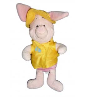 Peluche Doudou - PORCINET - Chapeau jaune Veste - Disney - H 32 cm - 587/8005