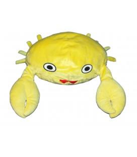 Peluche CRABE jaune - IKEA - Yellow Crab Plush - 30 cm