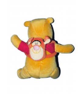 Doudou peluche WINNIE The Pooh - Sac à dos Tigrou - Disney Applause - H 22 cm-