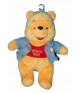 Doudou peluche WINNIE The Pooh - Veste en jean - Disney Nicotoy - 587/9957