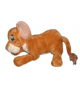 Peluche Doudou Kovu Simba Nala LE ROI LION - Disney Disneyland Paris - L 30 cm