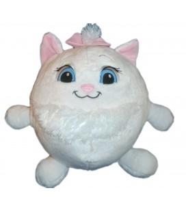 Peluche ballon boule ronde Marie Les Aristochats Chat Disney Nicotoy 30 cm 587/3105