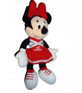 Peluche doudou MINNIE Wildcats - Disney H 45 cm