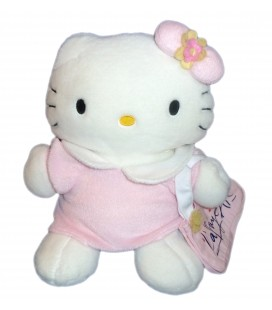 Peluche HELLO KITTY - Sac Galeries Lafayette - Sanrio Smiles - H 32 cm