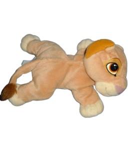Doudou peluche LE Roi Lion allongé Nala Kovu Simba MATTEL Disney