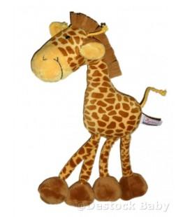 Doudou peluche GIRaFE marron jaune - Pla¼sch Giraffe braun - 38 cm SIGIKID plush