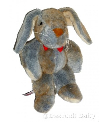 Doudou peluche LaIPN gris - Pla¼sch graue Kaninchen - 31 cm SIGIKID