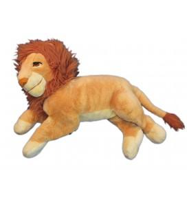 XXL - VINTAGE - Peluche Géante - Simba LE ROI LION - L 60 cm x 45 cm - Disney Mattel