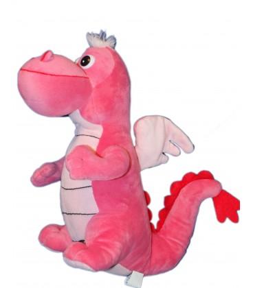 Peluche DRAGON Rose - Drago & Dino - 34 cm - Cora Nal