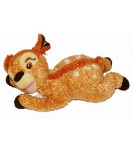 Peluche Doudou BAMBI allongé Disney L 28 cm