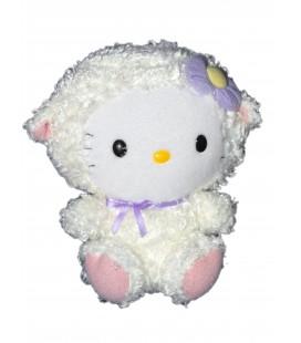 Peluche HELLO KITTY - Petit Mouton - 15 cm - TY Sanrio Jemini