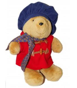 Peluche Ours PADDINGTON Bear - Eden Toys - H 40 cm - Bérêt