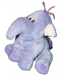 Doudou peluche éléphant mauve LUMPY 15 cm Disney Nicotoy 587/3437