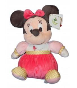 Disney Baby - Peluche Doudou Minnie - Pretty in Pink - 30 cm - Nicotoy Simba