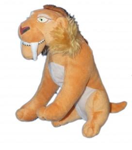 Peluche doudou LION Diego Age de Glace 4 H 22 cm