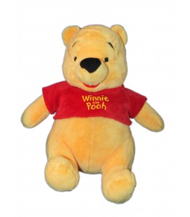 Doudou peluche WINNIE The Pooh - Assis - Disney Nicotoy Simba H 28 cm