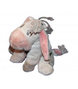 Doudou peluche Bourriquet assis gris 20 cm Disney Nicotoy 587/8103