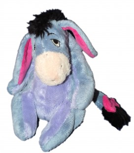 Doudou peluche BOURRIQUET - Disney Nicotoy - H 18 cm - Queue à scratch