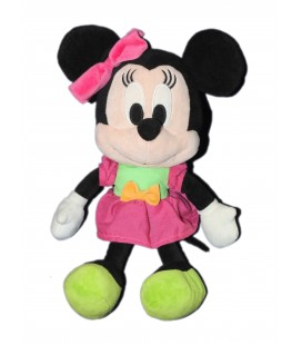 Doudou peluche MINNIE Coeur - Disney Nicotoy - 32 cm