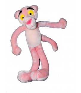 Peluche PANTHERE ROSE - Pink Panther Plush - 42 cm