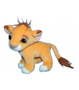 Peluche Doudou Simba - Nez aimanté - LE ROI LION - Disney Authentic MATTEL 1993 - H 20 cm