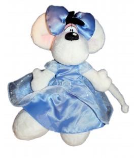 Peluche DIDDL Diddlina - Robe mariée Bleue - Depesche - 35 cm