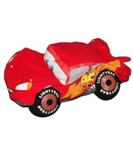 Peluche Range Pyjama Voiture Flash Mc Queen CARS Disney Pixar - Martin - 36 x 20 cm