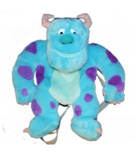 COLLECTOR - Peluche SAC A DOS - Sully - Monstres et Compagnie Monster et Cie Compagnie Bleu - Disney Pixar