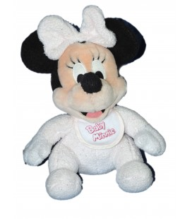 Doudou peluche Baby MINNIE Assise - H 28 cm - Disneyland Resort