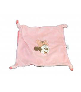 Doudou plat MINNIE rose - Disney baby Casino
