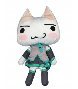 Peluche Chat - Doko Demo Issyo - Sony Cat - H 50 cm - Japan Taito Matsune Miku