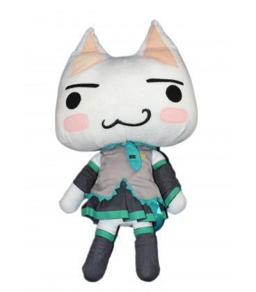 Peluche Chat - Doko Demo Issyo - Sony Cat - H 50 cm - Japan Taito Matsune Miku