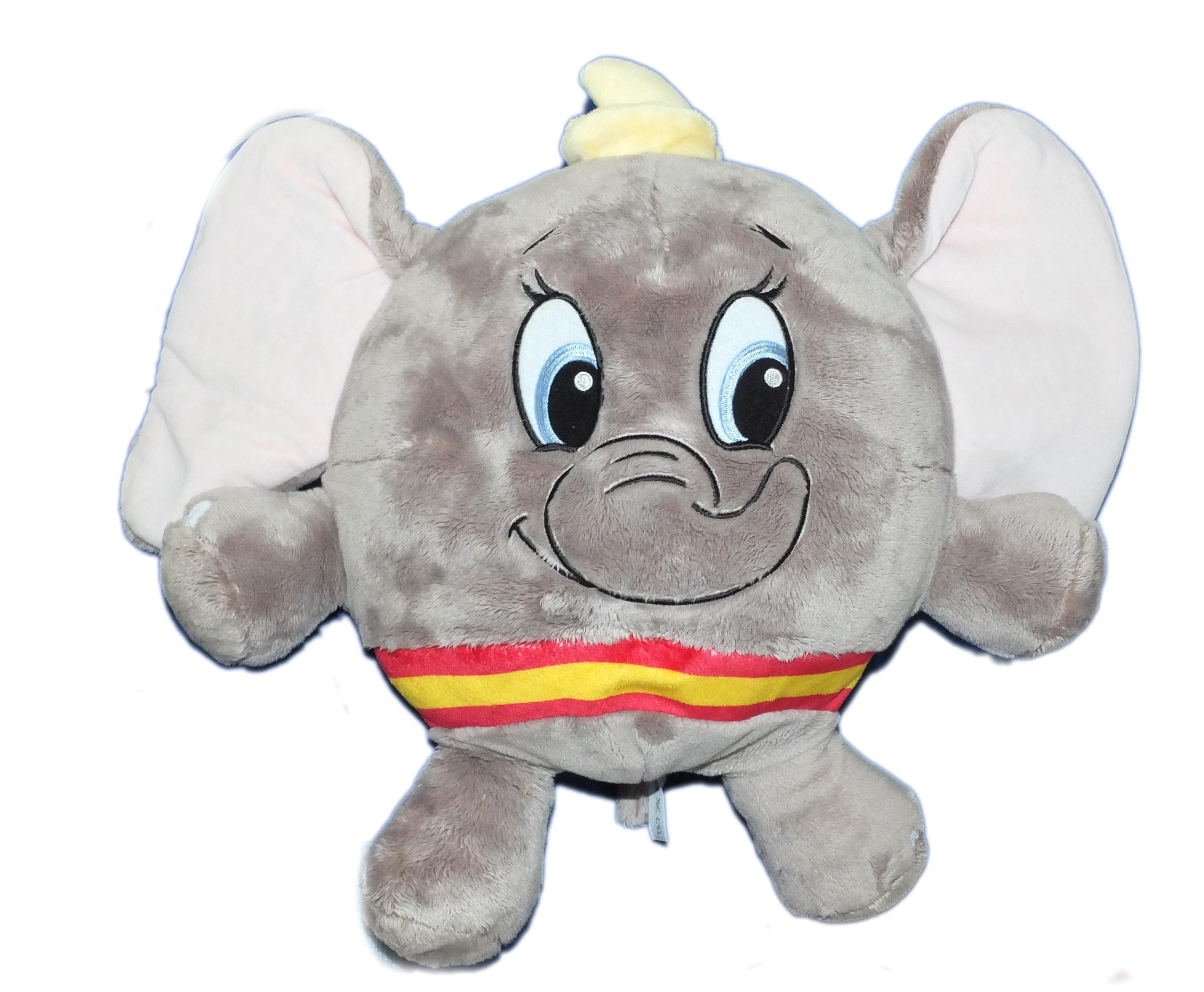 Peluche ballon boule Doudou DUMBO L\'ELEPHANT VOLANT Disney Nicotoy H ...
