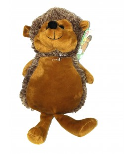 Peluche HERISSON brun marron - BEST PRICE LONDON - 45 cm