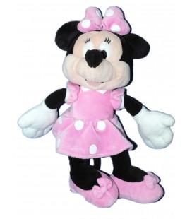 Doudou peluche MINNIE Robe Rose pois blancs - Disney Nicotoy - H 32 cm