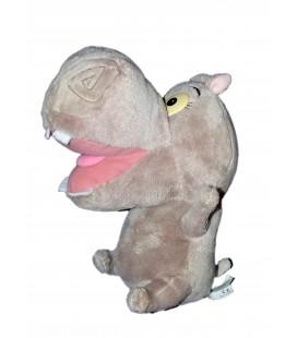 NEUF ETIQU Doudou Peluche Hippopotame Gloria MADAGASCAR BIG HEADZ 24 cm