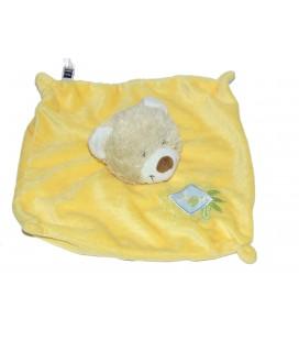 Doudou plat OURS jaune - Carrefour CMI Tex Baby - Girafe