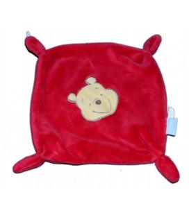 Doudou plat WINNIE rouge - Disney Baby GSA
