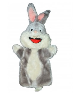 VINTAGE - Peluche doudou Marionnette BUGS BUNNY Warner Bros Mighty Star - RARE ET COLLECTOR