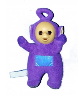 Peluche TELETUBBIES Violet TINKY WINKY - H 27 cm - TOMY Licence BBC 5889