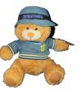 Peluche OURS roux beige Chapeau - My Best Friend - Trendtoys Plush - H 26 cm