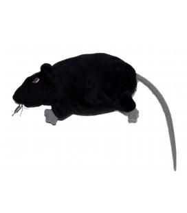 Doudou Rat Souris noire Gosig Ratta IKEA 22 cm