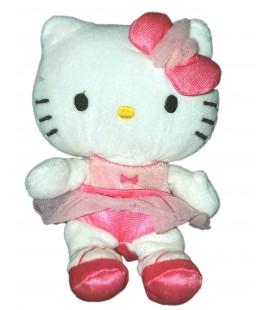 Peluche doudou HELLO KITTY - Robe tutu danseuse - Sanrio H 18 cm