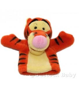 Doudou peluche marionnette Tigrou 22 cm Disney Nicotoy