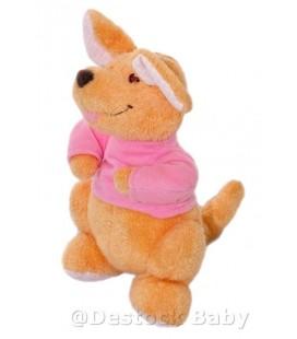 Doudou peluche ROO Petit Gourou - Kangourou Winnie l'Ourson - 18 cm Disney Nicotoy
